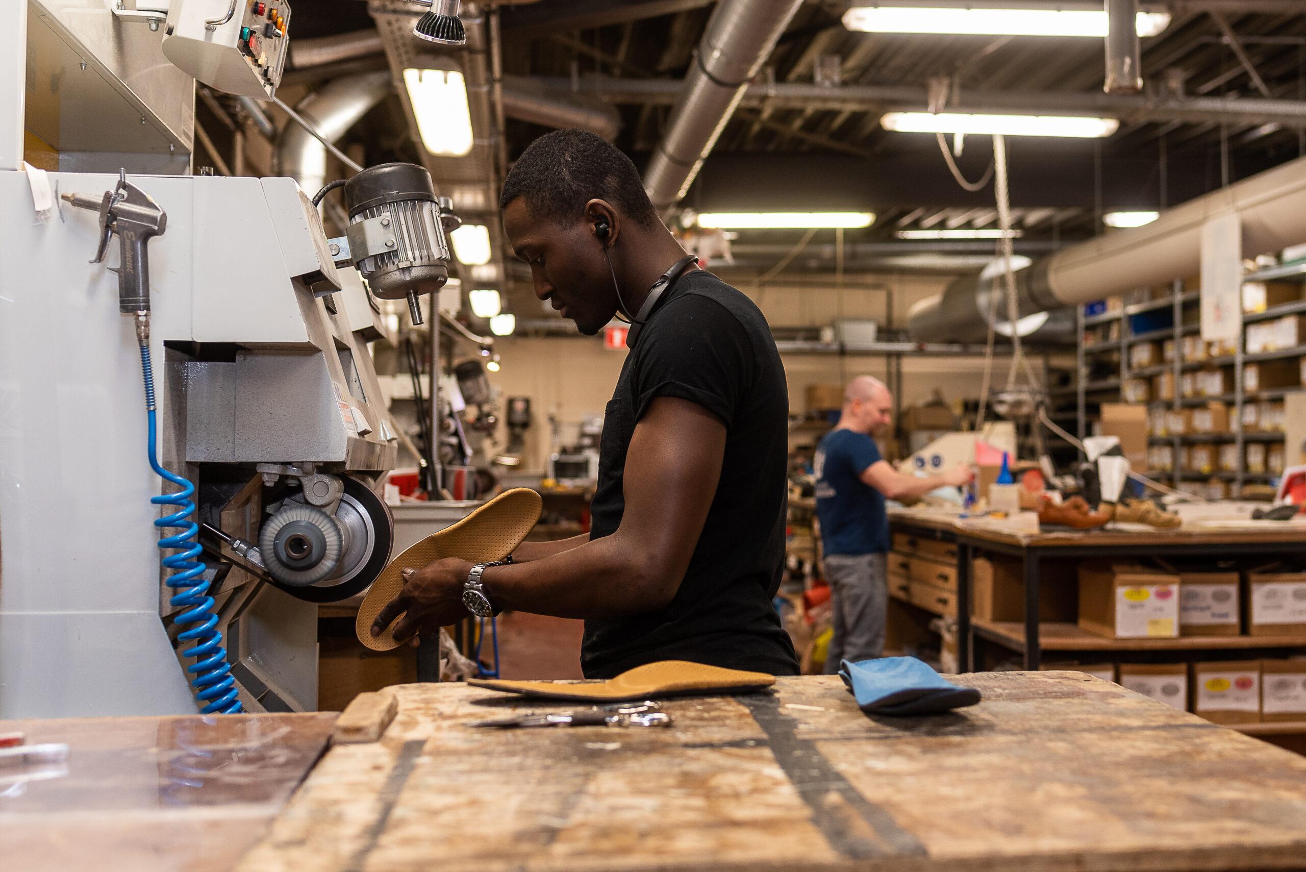 VDS schoenen maken