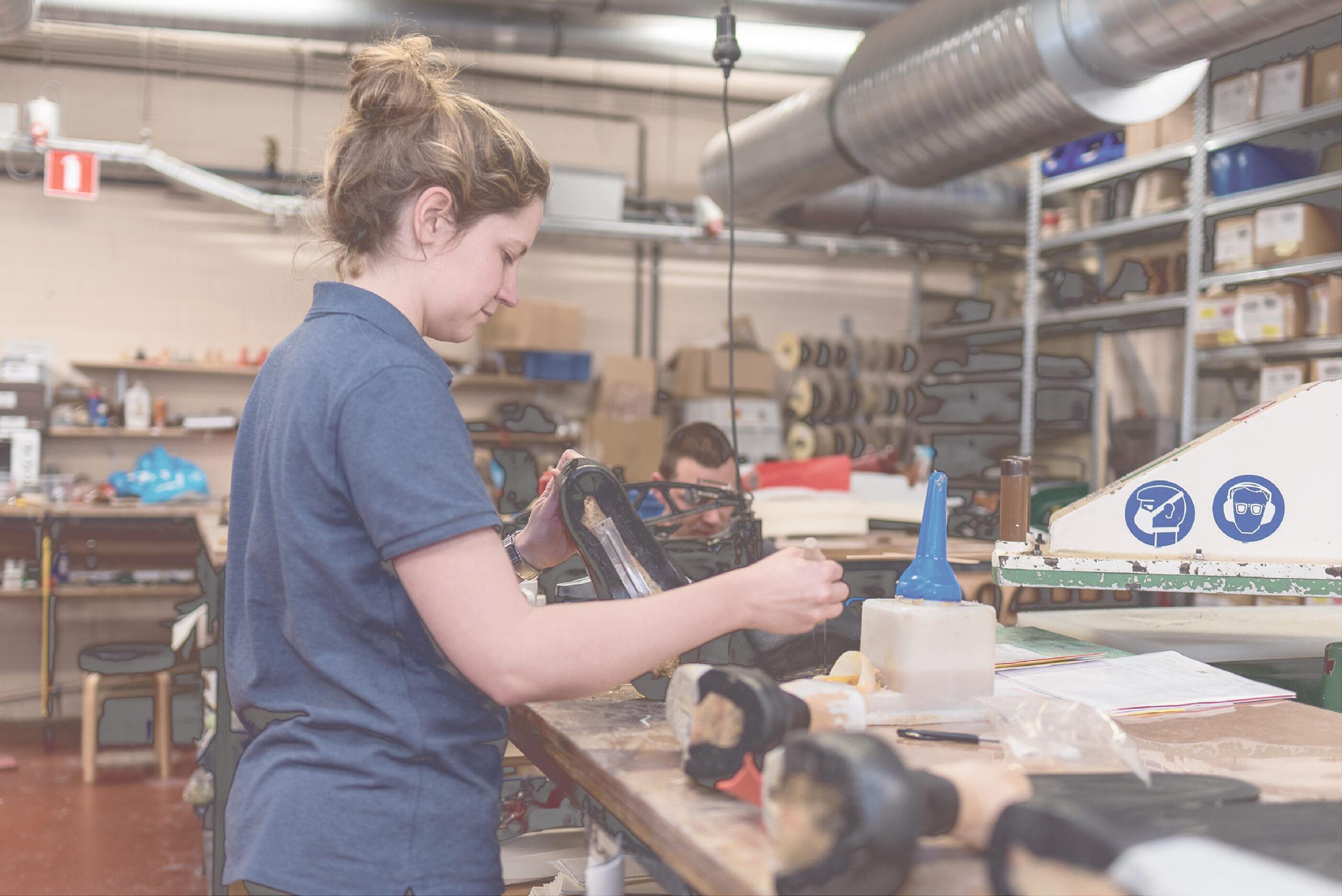 schoenen maken